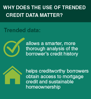 Trended Credit Data Benefits Graphic